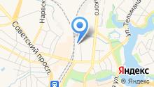 АЗС Балтнефть на карте