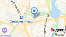 Marca на карте