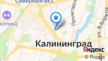 Baltik line на карте