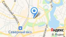 Megart на карте