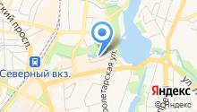 Магазин антенного оборудования и автомагнитол на ул. Профессора Баранова на карте