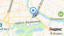 Единая дежурно-диспетчерская служба по делам ГО и ЧС г. Калининграда на карте