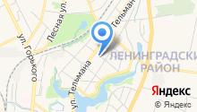 Библиотека им. М. Горького на карте