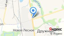 Евробус на карте