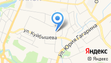Автокомплекс на Еловой на карте