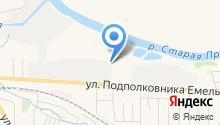 Мотос на карте