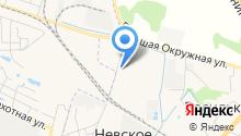 Экрусс на карте
