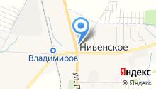 Ателье на Калининградской на карте
