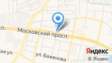 Юко на карте