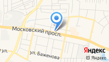 АЗС НЕФТЕГАЗ Калининград на карте
