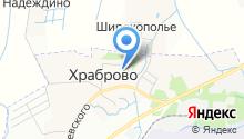 Дворик на карте