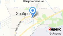 Администрация городского поселения на карте