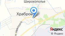 Территориальное управление Храбровского района на карте