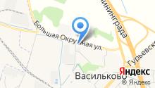 АЗС Сиббалт-Инвест на карте