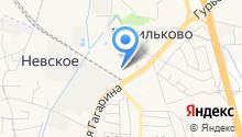 Региональный центр доставки на карте