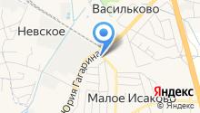 Пол-сервис на карте