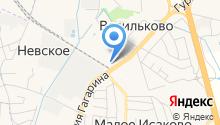 Теплоград Калининград на карте