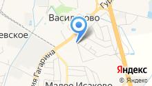 Почтовое отделение на карте
