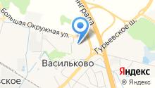 Васильковская врачебная амбулатория на карте