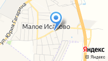 Продовольственный магазин на Калининградской на карте