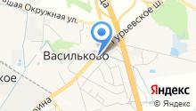 Компания междугородных грузоперевозок на карте