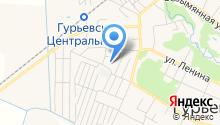 Капелев и М на карте