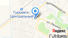 Гурьевские колбасы на карте