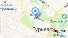ЗАГС Администрации Гурьевского городского округа на карте