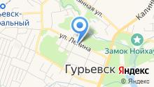 Гурьевская территориальная избирательная комиссия на карте