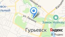 Гурьевский межрайонный следственный отдел на карте