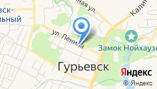 Гурьевский районный суд на карте