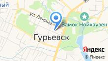 Отдел Военного комиссариата по Гурьевскому району на карте