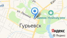 Прокуратура Гурьевского района на карте