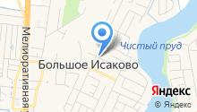 Больше-Исаковская врачебная амбулатория на карте