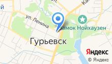 Отделение ГИБДД отдела МВД России по Гурьевскому району на карте