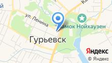 Управление МВД России по Гурьевскому муниципальному району на карте