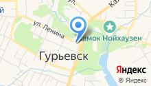 Управление ФСИН России по Калининградской области на карте