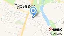 Гурьевская ветеринарная станция на карте