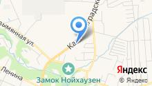 Пожарно-спасательная часть №20 Гурьевского муниципального района на карте