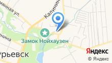 Новоапостольская церковь в России на карте