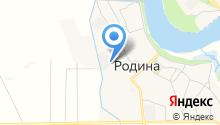 Дорожник-2010 на карте