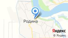 ЖКУ №2 пос. Родина на карте