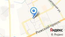 Весёлый хуторок на карте