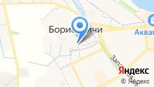 Автосервис Борисовичи на карте