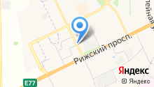 Автостоянка ул. Рокоссовского, 1Б/1 на карте