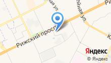 АГЗС Псковавтогаз на карте