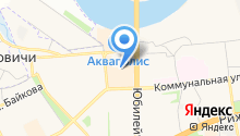 Автостоянка на Кузвасской Дивизии на карте