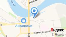 Аварийно-спасательная служба по Псковской области на карте