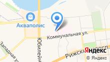 Банно-прачечный комбинат, МП на карте