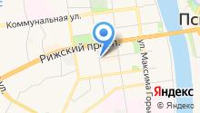 1C Progect на карте